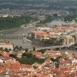 View from Petrin Lookout Tower, Prague - Czech Republic — Stock Photo