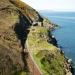 Stock Photo: Cliffwalking Between Bray and Greystone, Ireland