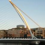 Samuel Beckett Bridge, Dublin - Ireland — Stock Photo #37004997