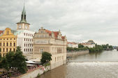 Vltava River, Prague - Czech Republic — Stockfoto
