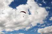 Free-Flying on Paraglide — Stock Photo