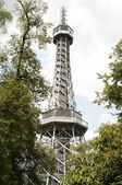 Petrin Lookout Tower, Prague - Czech Republic — Stock Photo