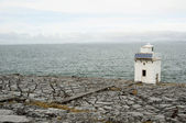 Blackhead Lighthouse in the Burren, Co.Clare - Ireland — Stock Photo