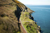 Cliffwalking Between Bray and Greystone, Ireland — Stock Photo