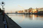 Samuel Beckett Bridge, Dublin - Ireland — Stock Photo