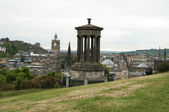 View from Calton Hill, Edinburgh - Scotland — Stock Photo