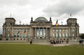 Reichstag Building - Berlin — Stock Photo