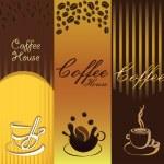 Coffe Banner — Stock Vector #31637285