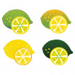 Lime — Stock Vector