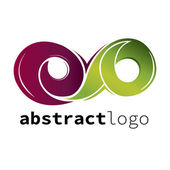 Logotipo abstracto — Vector de stock