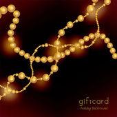 Beads — Stock Vector