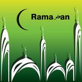 İslami arka plan — Stok Vektör