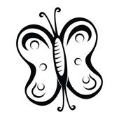 Motyl — Wektor stockowy