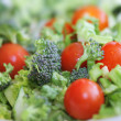 Broccoli tomato salad — Stock Photo