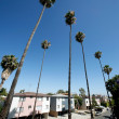 Residential area of Los Angeles — Stock Photo