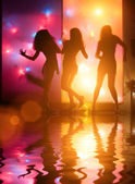 Dancing people — Stock Photo