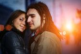 Happy couple in love — Stock Photo