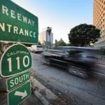 Car entering freeway — Stock Photo #32420709