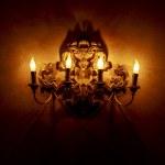 lámpara candelabro de pared — Foto de Stock