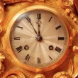 Vintage clock face — Foto Stock