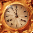 Foto Stock: Vintage clock face