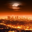Night Los Angeles — Stock fotografie