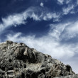 Mountain cliff — Stockfoto