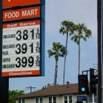 gaz fiyatları — Stok fotoğraf