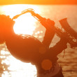 Woman playing sax — Stock Photo #32421367