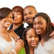 Stock Photo: African American family