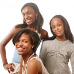Happy teenage girls — Stock Photo