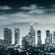Downtown Los Angeles skyline — ストック写真