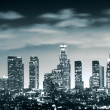 Downtown Los Angeles skyline — Stock fotografie