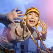 Happy Asian girl — Stock Photo
