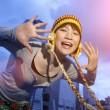 Happy Asian girl — Stock Photo #32422527
