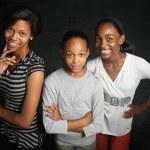 Three teenage sisters — Stock Photo #32422835