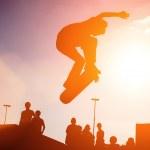 kaykaycı atlama — Stok fotoğraf