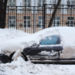 Car in snow — Stock Photo #32426017