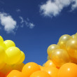 Balloons background — Stock Photo