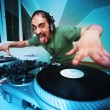 Crazy DJ  — Stock Photo