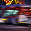 Stock Photo: Traffic in LA, blurred motion