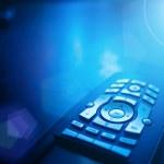 Media tv remote control — Stock Photo