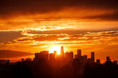 Los Angeles sunrise — Stock Photo