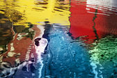 Abstract colorful reflections — Stock Photo