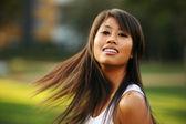 Beautiful young asian woman — Стоковое фото