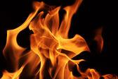 огонь пламя текстуру фона — Стоковое фото