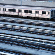 Train station, view from above — Stock Photo #32906113