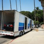 Moving to California — Stock Photo