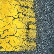 Stock Photo: Abstract background of old paint on asphalt road