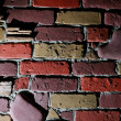 Dramatic brick wall background — Foto de stock #32905977